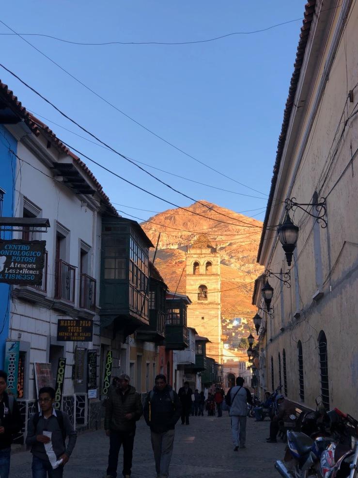 Ruelles coloniales et Cerro Rico - Potosi - Bolivie
