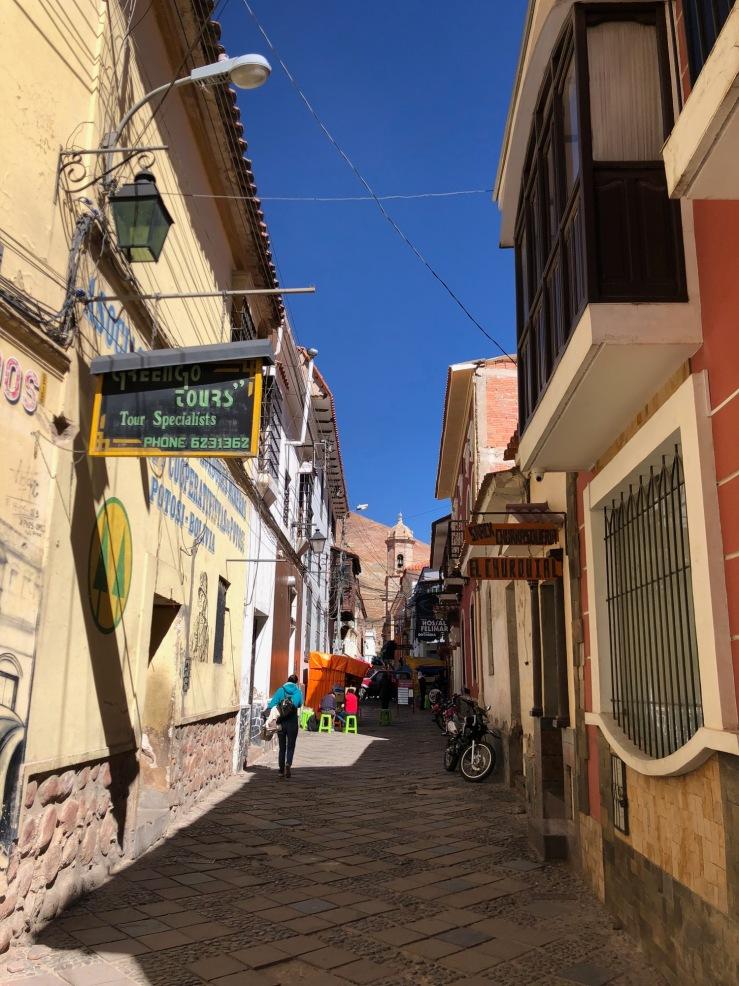 Jolies ruelles coloniales - Potosi - Bolivie