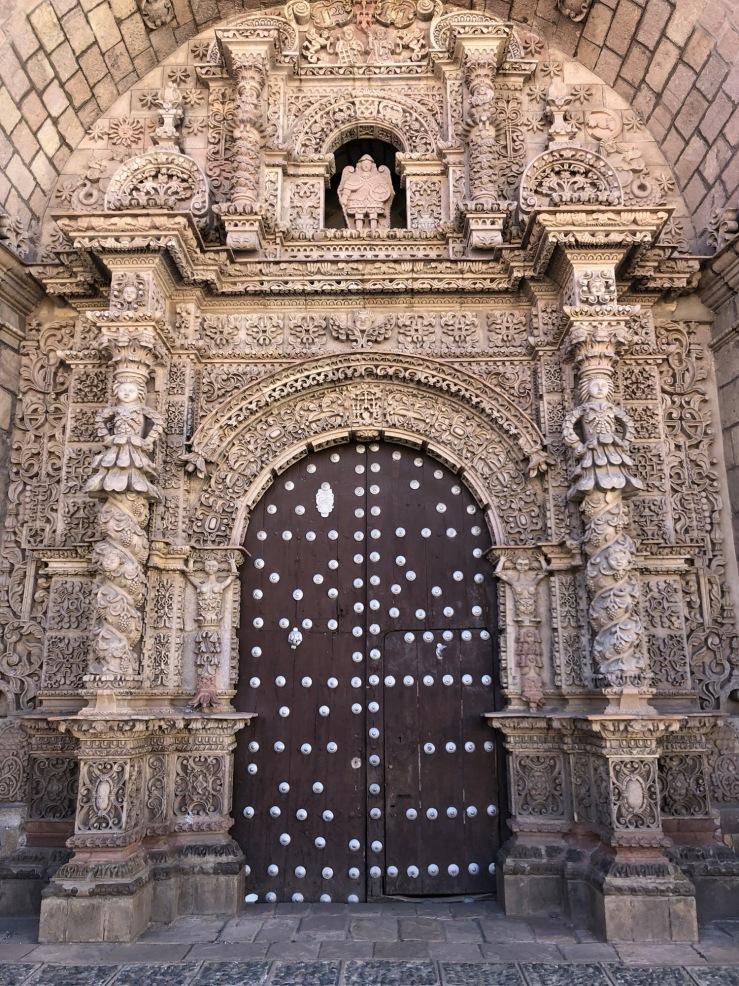 La façade de San Lorenzo - Potosi - Bolivie