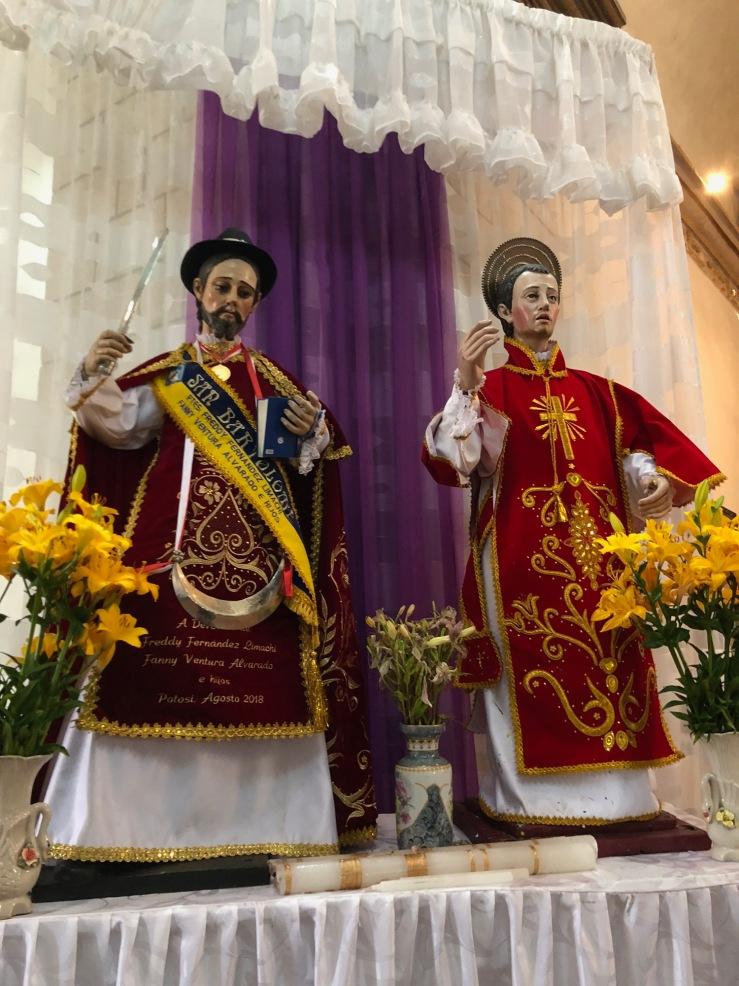San Barthélemy et San Lorenzo - Potosi - Bolivie