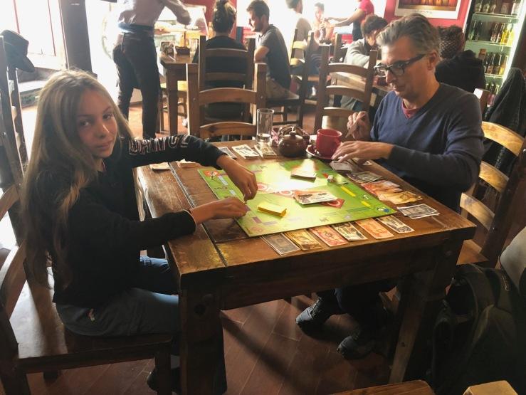 Partie de Monopoly a El Condor - Sucre - Bolivie