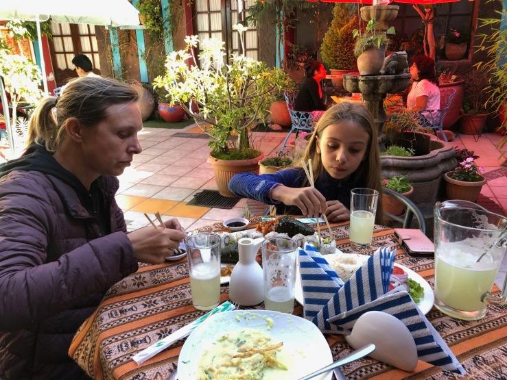 Sushi à Sucre - Bolivie