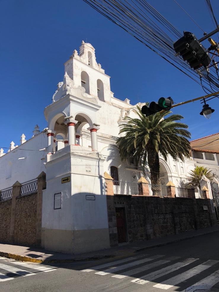 Sucre la Blanche - Bolivie