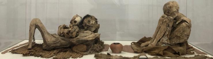 Momies -Musée archéologique - Sucre - Bolivie