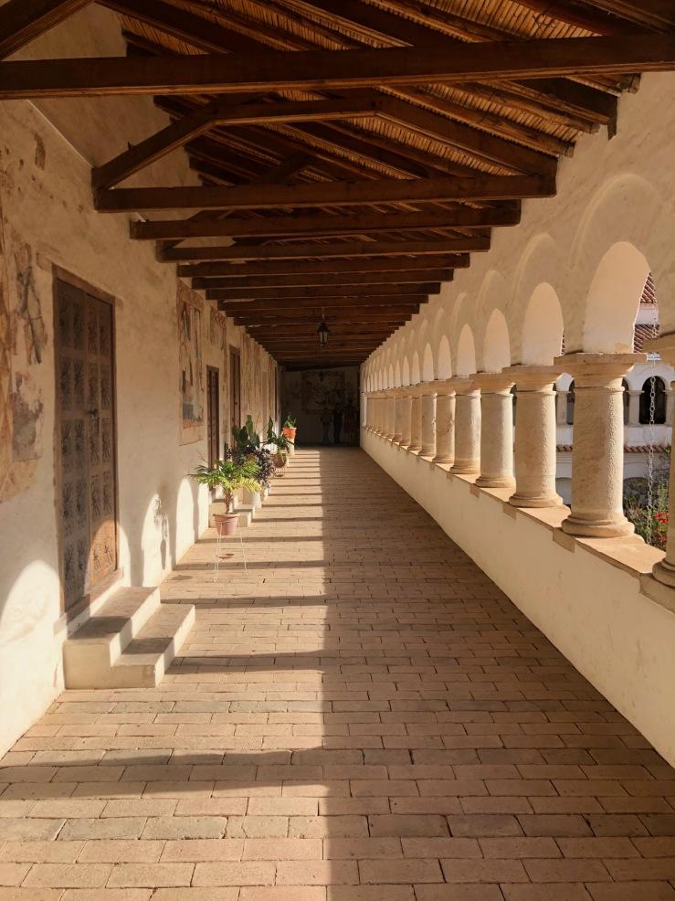 Cloître du Couvent de Santa Clara - Sucre - Bolivie