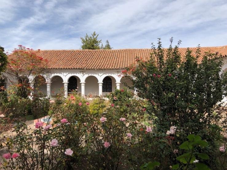 Cloitre du couvent franciscain - Sucre - Bolivie