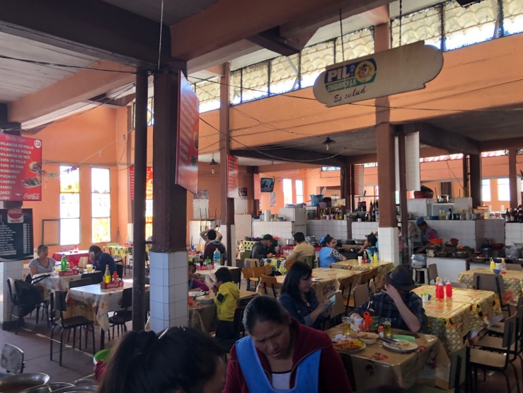 Comedor - Mercado Central - Sucre - Bolivie