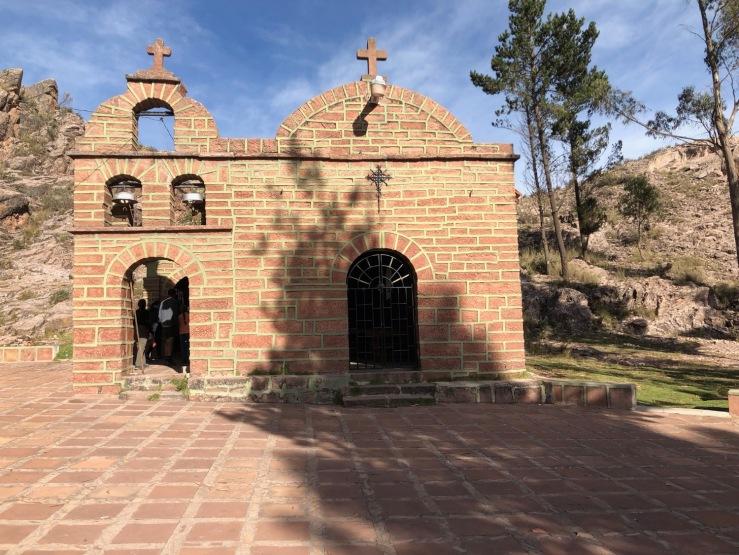 Sanctuaire de la vierge de Chataquilla - Région de Sucre - Bolivie
