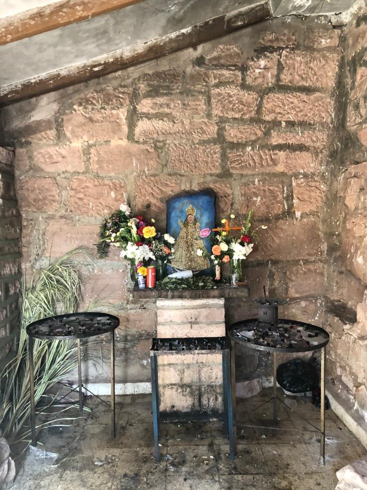 La Vierge de Guadalupe - Sanctuaire de la vierge de Chataquilla - Région de Sucre - Bolivie