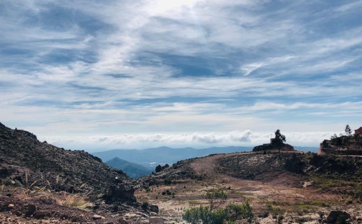 Début du Chemin de l'Inca - Région de Sucre - Bolivie