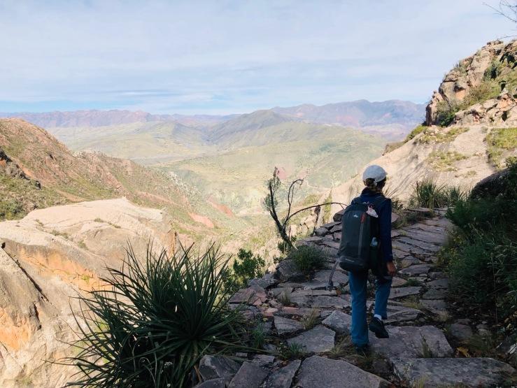 Chemin de l'Inca - Région de Sucre - Bolivie