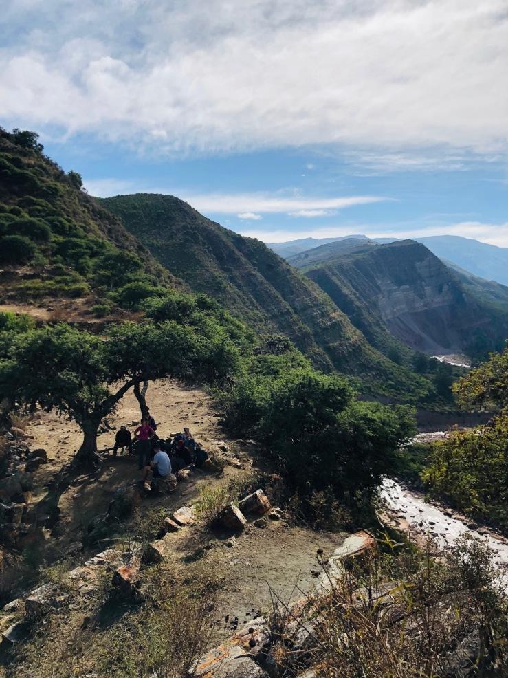 Dans la cordillère de Los Frailes - Région de Sucre - Bolivie