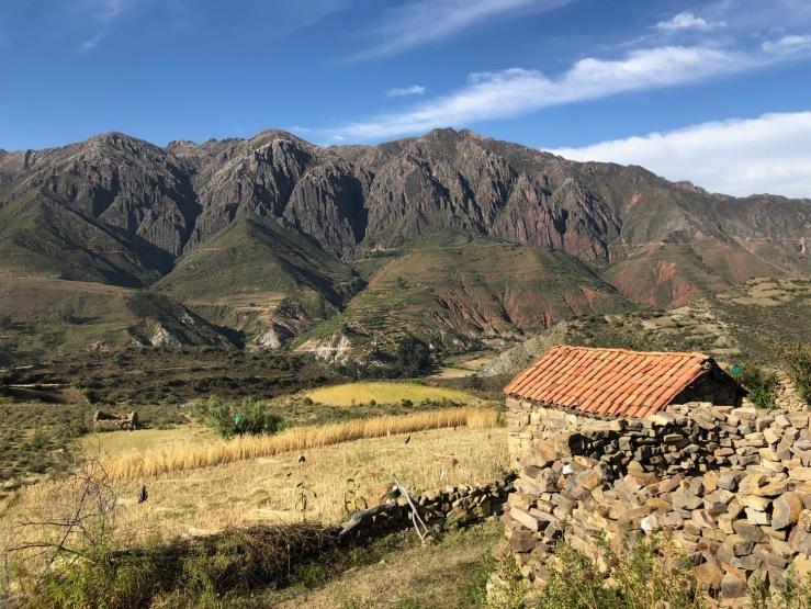 Fermette isolée - Dans la cordillère de Los Frailes - Région de Sucre - Bolivie