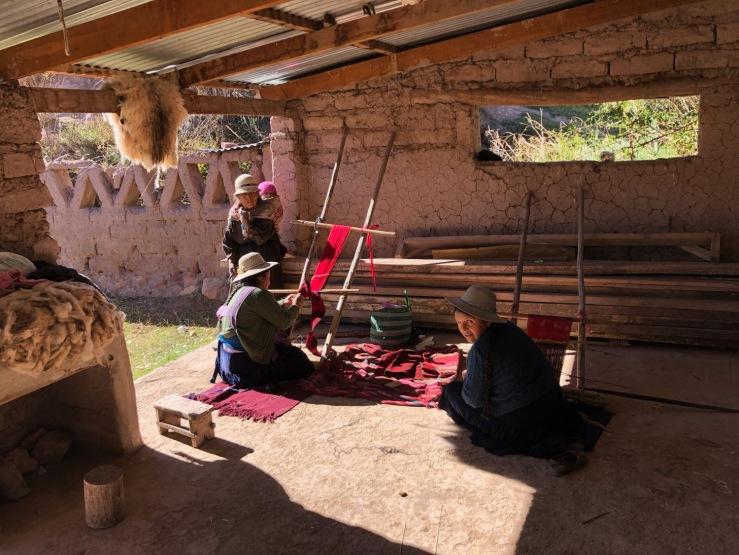 Tisserandes Jalq'A - Potolo - Region de Sucre - Bolivie