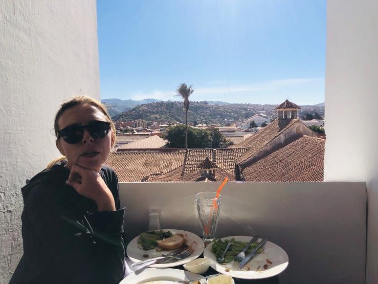 Dejeuner avec vue - Sucre - Bolivie
