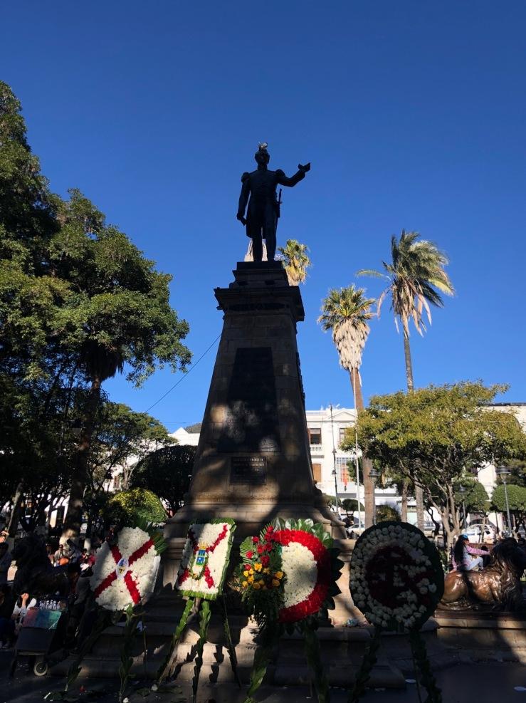 Hommage au Général Sucre - Sucre - Bolivie