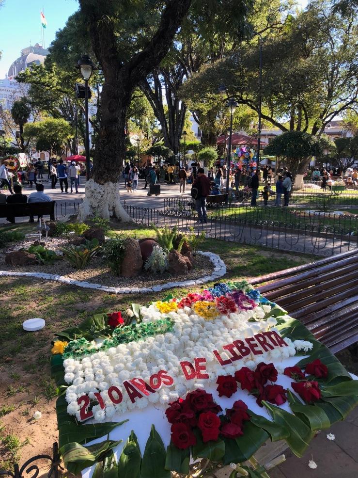 Fete de la première révolte vers l'indépendance - Sucre - Bolivie