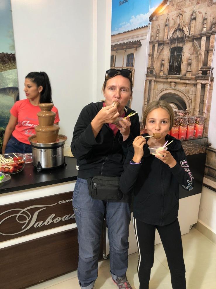 Festival du Chocolat - Sucre - Bolivie