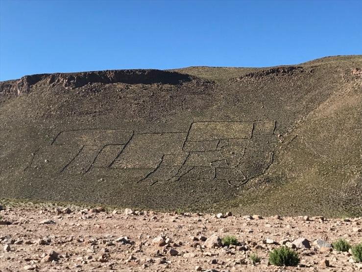Énigmatiques marques au sol- Sud Lipez - Bolivie