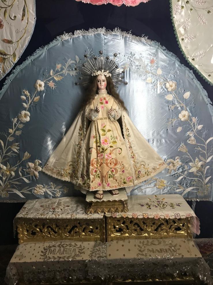 Vierge - Poupée - couvent de Santa Teresa - Potosi - Bolivie