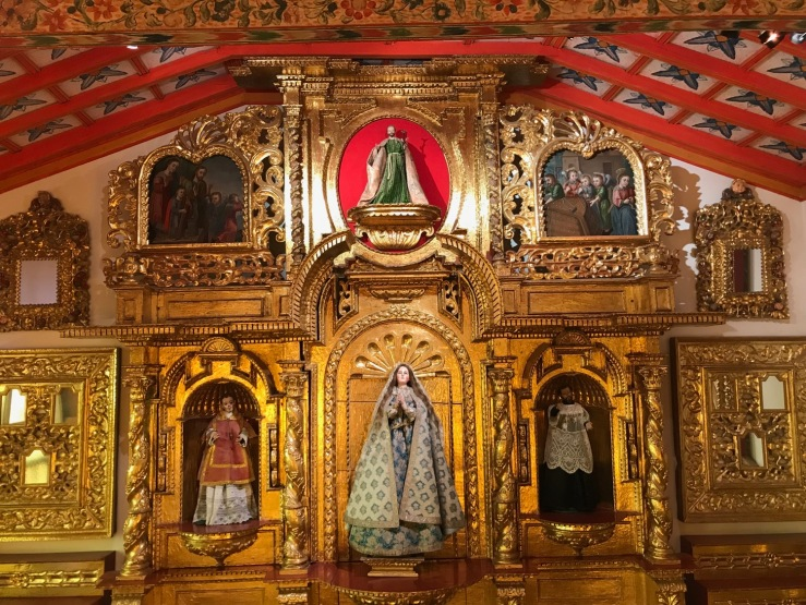 Chapelle - Couvent de Santa Teresa - Potosi - Bolivie