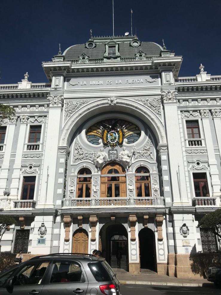 Palacio del Gobierno - Sucre - Bolivie