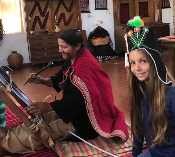 Au Museo de Arte Indigena - Sucre - Bolivie