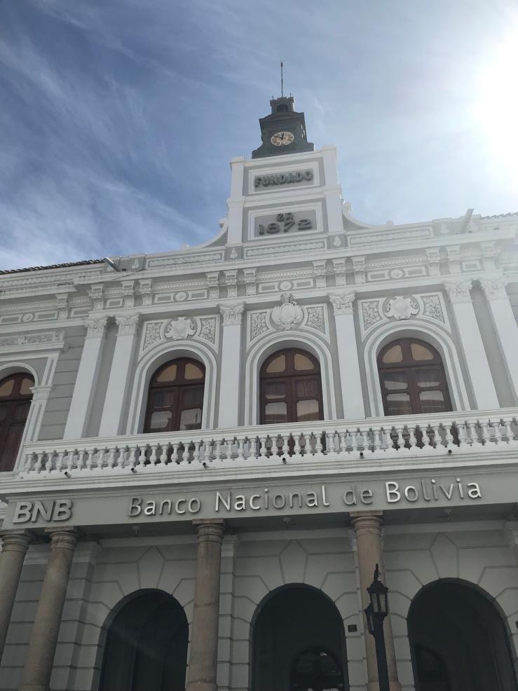 Banco Nacional de Bolivia - Sucre - Bolivie