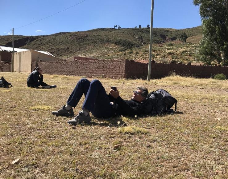 L'heure de la sieste - Région de Sucre - Bolivie