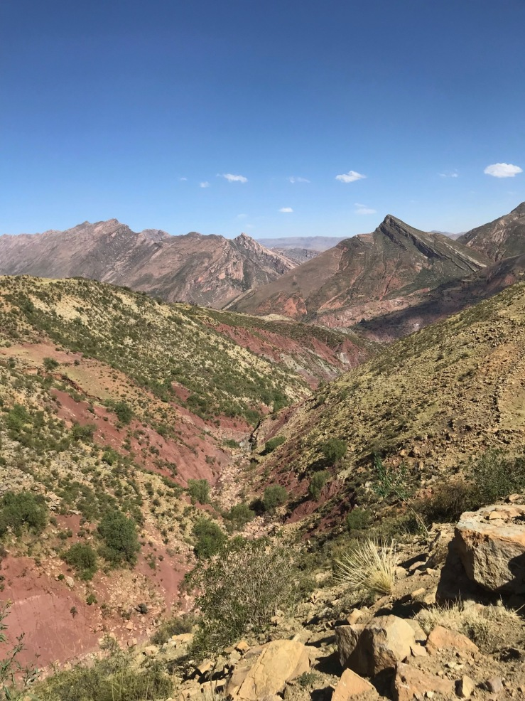 Cordillère de Los Frailes - Autour de Sucre - Bolivie