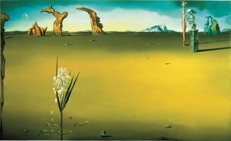 Trilogie du désert par Salvator Dali